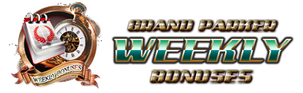 GrandParker Weekly Bonuses
